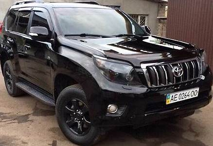 Toyota land cruiser prado 200