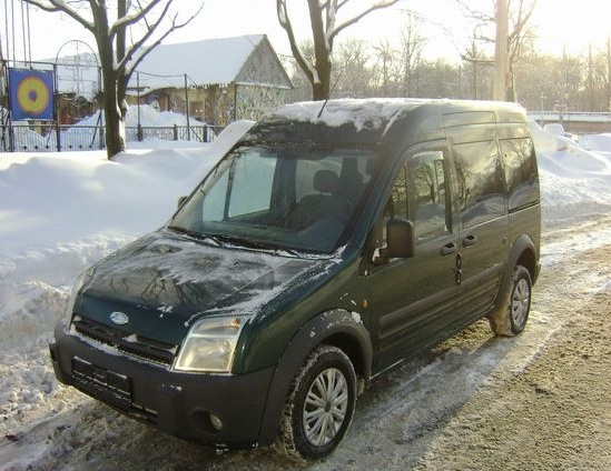 Ford Tourneo Connect (механика)